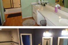 ICS - Before and After Bathroom Remodel - austincustomremodeling.com