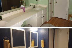 ICS - Before and After Bathroom Remodel in Austin, TX 78758