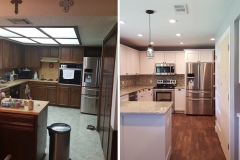 ICS - Before and After Kitchen Remodel in Austin, TX