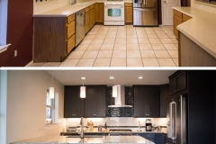 ICS-Before and After Kitchen Remodel - Photos by Steve Coyle Photography